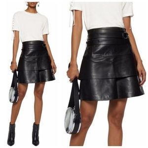 Iro Marika Leather Mini Skirt